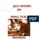 Small Scale Industries and Thier Impact on Indian Economy