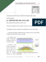 Caract.gen.de Anclajes