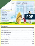 India Strategy (Housing Boom Ahead) 20170428