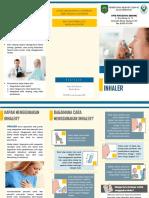 Leaflet Cara Penggunaan Inhaler