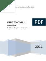 Direito Civil II - Apostila Completa