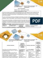 Guía de Actividades y Rúbrica de Evaluación Fase 3 Hacia El Gesto Teatral
