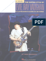 The Guitar Style of Stevie Ray Vaughan - Guitar Signature Licks