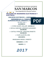 Informe Final 2 Lab. Circuitos Electricos