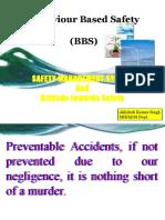 Behavior Based Safety BBS