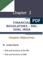 Chapter 2 - Rbi, Sebi, Irda