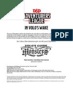In Volo's Wake