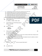 CBSE Board XII Chemistry Paper Sol