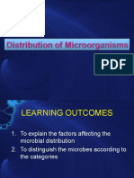 Topic 4 - Distribution of Microorganisms