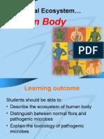 Topic 7 - Human Body Ecosystem