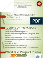 CM651 Proj Mgt Module 1(061916)