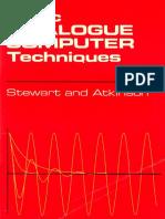 Stewart - Atkinson - Basic Analogue ComputerTechniques 1967