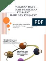 Hubungan Filsafat Dan Ilmu Pengetahuan