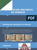 Ventilacion Mecanica en Mineria