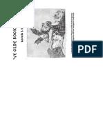 Ye Olde1.21 - Booklet