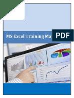 MS Excel Manuals 2010 Version 3.0