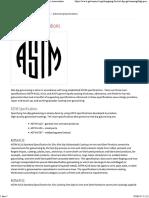 Galvanizing Specifications _ American Galvanizers Association
