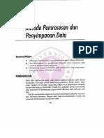 Bagian3 Bab10 Metode Pemrosesan Dan Penyimpanan Data