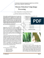 Wheat Leaf Disease Detection Using Image Processing