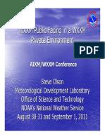 04-WXXM Public Facing in a WXXM Private Environment
