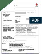 Form Pengurusan Cv Lengkap Ts