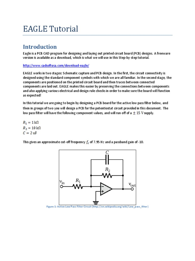 eagle tutorial   Printed Circuit Board   Electricity