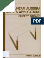 Gilbert Strang Linear Algebra