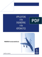 A380 Applications of the Engineering in the Aeronautics
