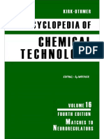 Encyclopedia of Chemical Technology [Vol 16]