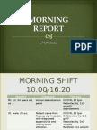 Morning Report 30 April 2013