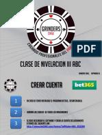 Clase III en PDF cash poker