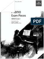 ABRSM 2017-18 Piano Pieces Gr1