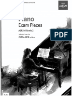 ABRSM 2017-18 Piano Pieces Gr2