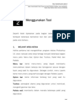 Praktikum Adobe Photoshop Bab2 - Menggunakan Tool