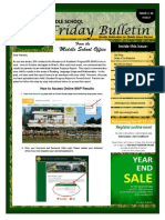 MS Parent Bulletin (Week of May 8 to 12)