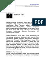 Praktikum Adobe Photoshop Bab9 - Format File