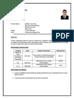 Philomin Resume