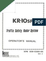 Kustom signals inc | products | police car radar & speed guns.