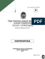 Soal Matematika a Smp