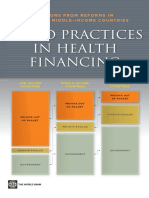 Good Practices in Health Financing