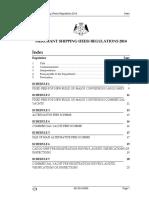 Merchant Shipping Fees Regulations 2014