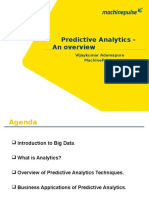 An Overview of Predictive Analytics - MachinePulse