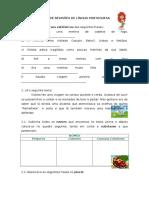 Ficha de Revisões de Língua Portuguesa II (1)