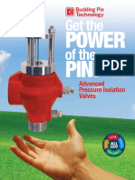 Buckling Pin Brochure