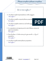 Exercices Phrase Simple Complexe (1)