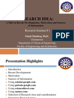 RESEARCH IDEA-A Talk on Recent Developments, Motivation and Sources of Information.pdf