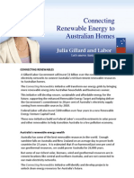 Connecting Renewables - Fact Sheet