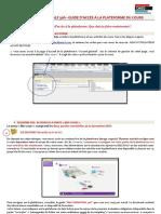 Ddd Guide d'Accès à La Plateforme Du Cours 2014