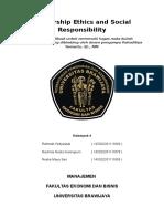 Leadership Ethics and Social Responsibility Kelompok 4