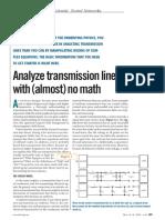 Analyze Tranmission Lines